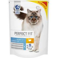 Сухой корм для кошек Perfect Fit индейка, 650 г
