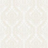 Обои текстильные Aura Victoria белые 0.53 м 070094