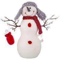 Декоративная фигурка Lefard Снеговик 476-136