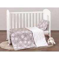 Комплект постельного белья «Ninna Nanna» в кроватку, перкаль, 3 предм.