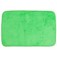 Коврик для ванной комнаты 48х75 цвет зелёный