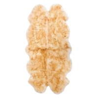 Шкура овечья шестишкурная 1.85x1.45 м цвет палевый