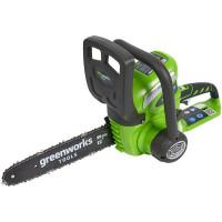 Пила аккумуляторная Greenworks 40 В 30 см АКБ и ЗУ не в комплекте